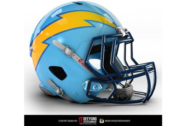 Design Company Creates Bold Concept Helmets for All 32 NFL Teams