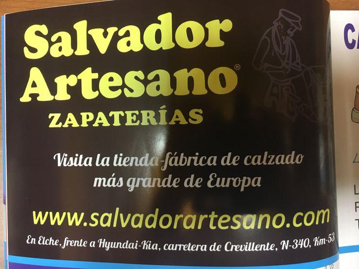 Salvador artesano zapaterías colaborador del libro de fiestas de las bayas