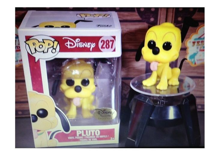 FUNKO POP PLUTO DISNEY TREASURES EXCLUSIVE limited edition #287