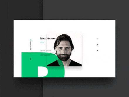 来自设计师Virgil Pana和Ben Cline的行云流水般优美的网页+App设计