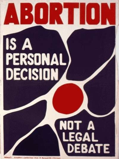 Abortion is a personal decision, not a legal debate.