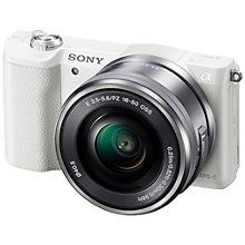 Sony Alpha A5100 Kompakt Systemkamera + 16-50 mm