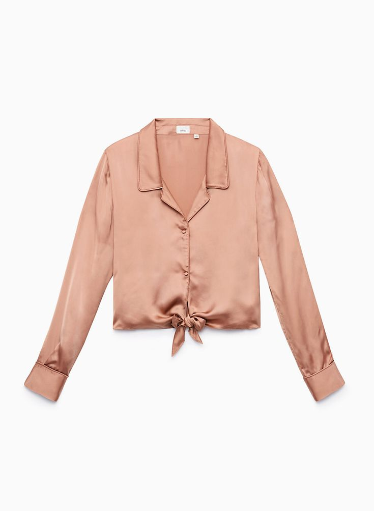 Paulien's Pick - The Wilfred PEAUFINER BLOUSE | Aritzia