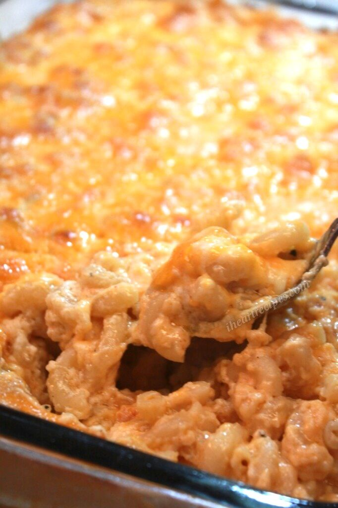 Soul Food Macaroni and Cheese Recipe... Only mozzarella, cream cheese, and velveeta and sharp cheddar, real butter
