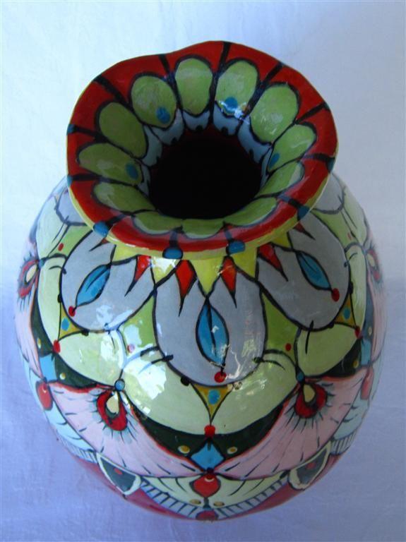 Flower vase - Maureen Visagé http://www.maureenvisage.co.za/