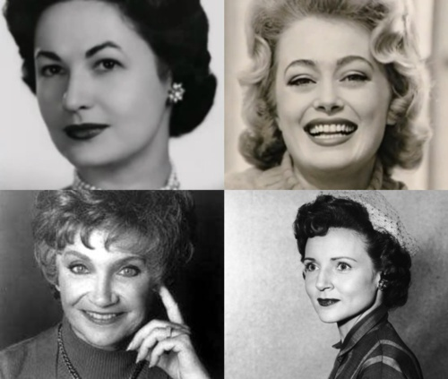 Young Golden Girls: Bea Arthur,     Rue McClanahan,  Betty White and         Estelle Getty