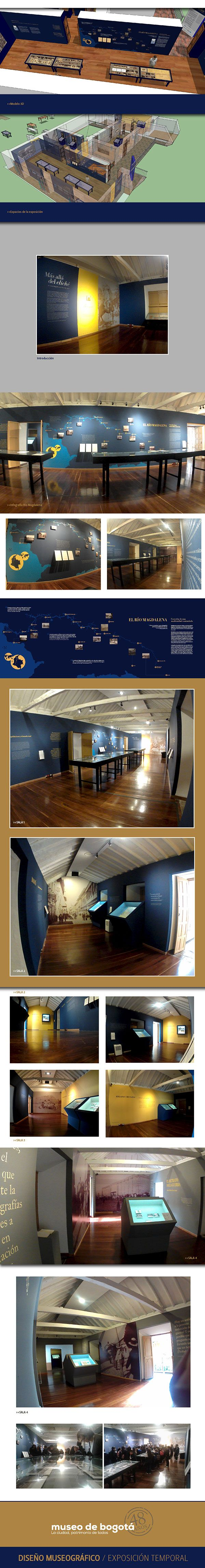 """Diseño museográfico """"Más allá del Cliché"""" Fondo fotográfico de Erns Bourgarel. Museo de Bogotá. museografía"""