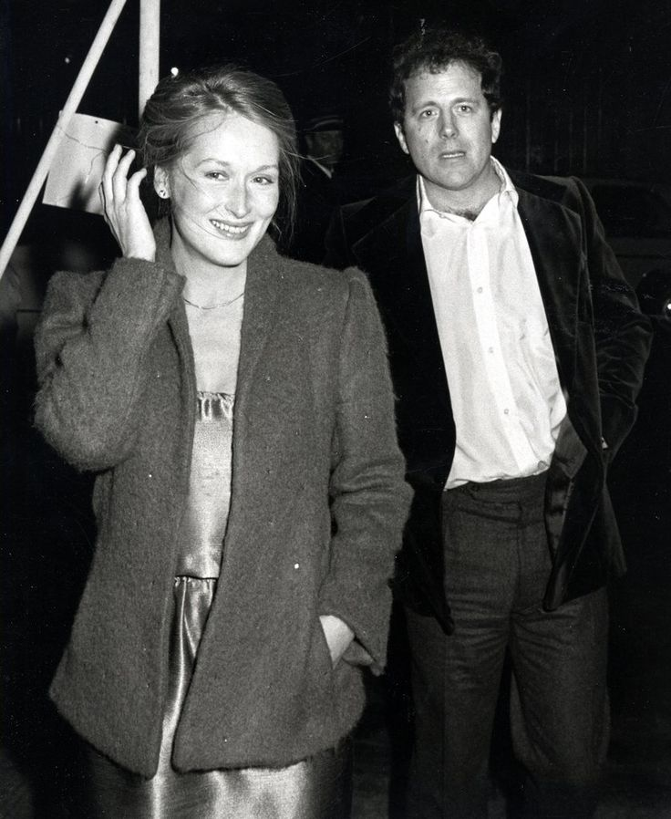 Streep topped a satin gown with an oversized blazer at Woody Allen's New Year's Eve Party in 1979.