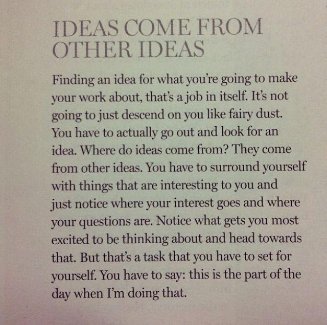 inspiration about inspiration by Ira Glass