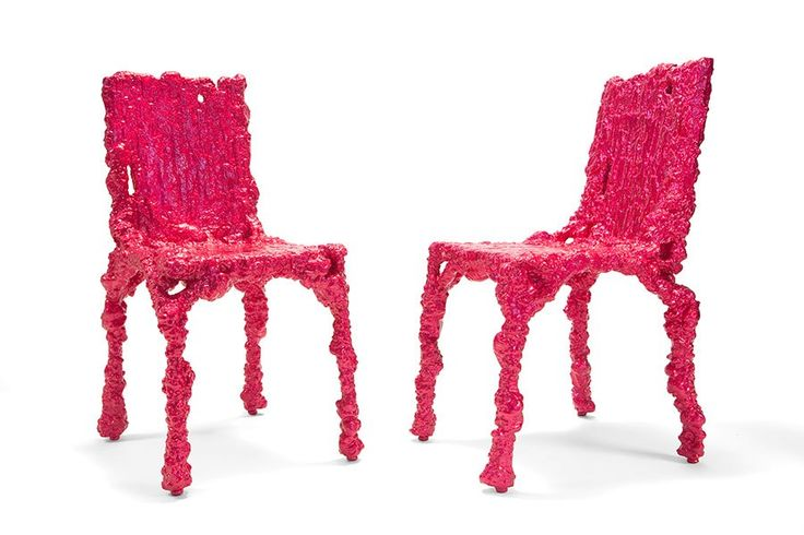 alufoil chairs by Chris Schanck.