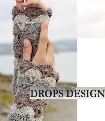 Bildresultat för virka handledsvärmare gratis mönster