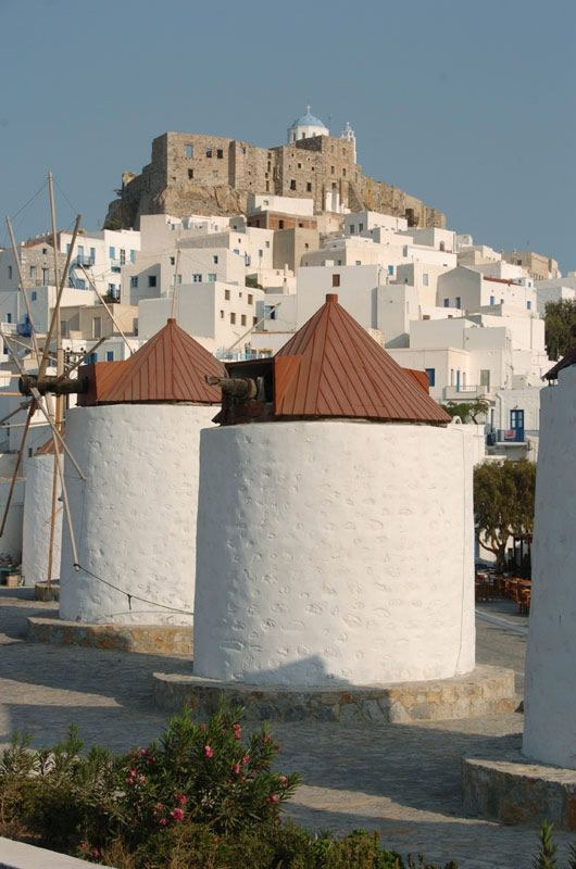 Astypalaia - a beautiful island in the Aegean Sea.