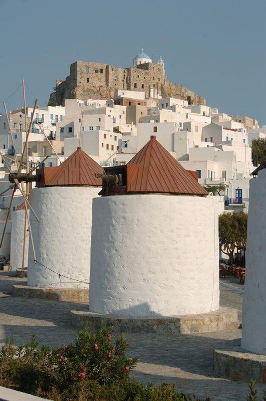 Astypalaia - a beautiful island in the Aegean Sea.