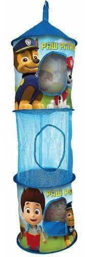 Mancs őrjárat függő játéktároló 1., Függő hálós játéktároló, mérete 30*90 cm Anyaga: poliészter, Perfect Baby Webáruház - Disney, Pixar mesék Mancs őrjárat, Hercegnők, Jégvarázs, Láng és a Szuperverdák termékek széles választékkal