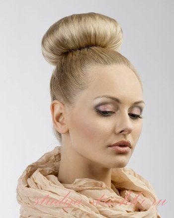 Как сделать пучок из волос красивым и стильным