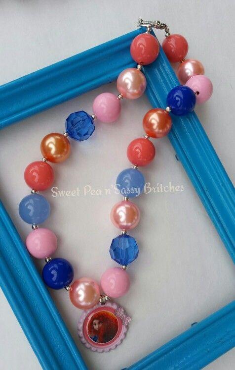 Brave..chunky necklace