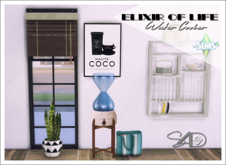 Ts2 to Ts4 Conversion of Elixir of Life Water Cooler -Deco only- – Sims 4 Updates -♦- Sims 4 Finds & Sims 4 Must Haves -♦- Free Sims 4 Downloads