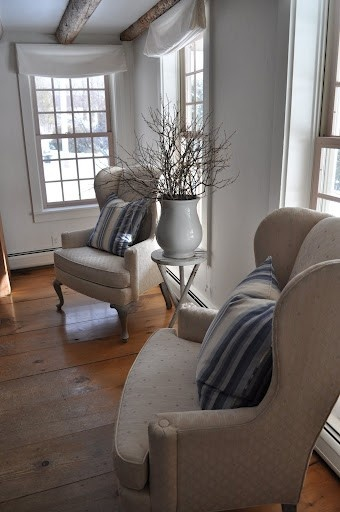 .........Decor Ideas, Living Rooms, Country Decor, Colonial Interiors, Design Farmhouse, Cottages Living, Farmhouse Inspiration, Bedrooms Ideas, White Room