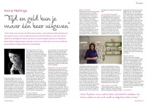 Beauty Wellness interview maart 2013