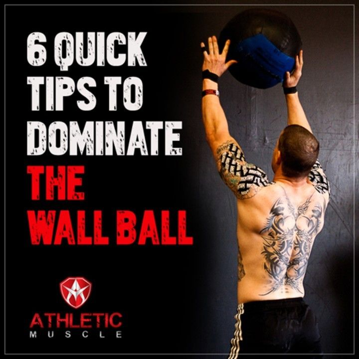 """I wish I would have seen this article before trying """"Karen"""" the other day. Great  tips to improve wall balls."""