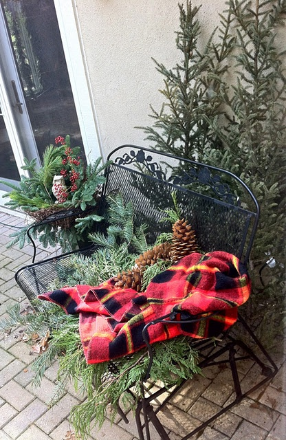1000 Images About Outdoor Bench Decor On Pinterest