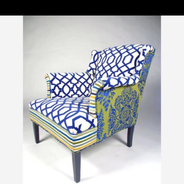 Elegant Multiple Fabrics.