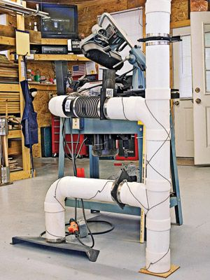 Dust Collection System Plans Woodworking Projects Plans