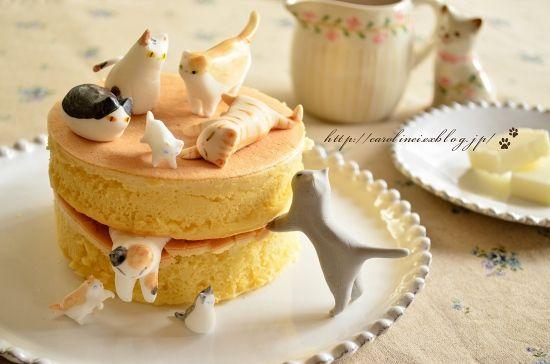 猫ケーキ、掲載して頂きました Thanks for praising our cat cakes. : お茶の時間にしましょうか-キャロ&ローラのちいさなまいにち- (元新浦安マダムの憂鬱)