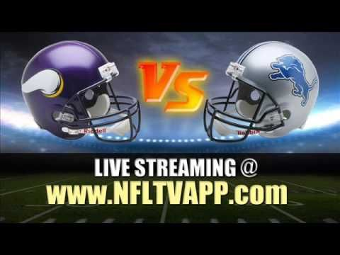 Watch Minnesota Vikings vs Detroit Lions Live Stream for PC, Laptop, Sma...