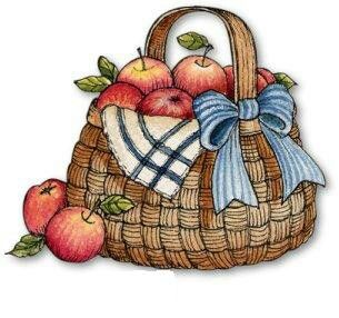 ✿Basket fruits & Vegetables✿ Country Style