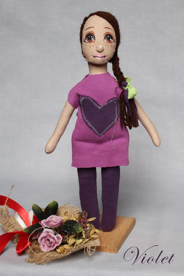 Lala szmacianka, Violet 2