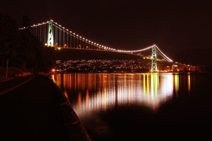 Lions Gate Bridge Vancouver BC