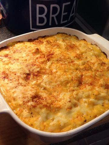 Vicki-Kitchen: Nigellas sweet potato macaroni cheese (slimming world friendly ) could use GF pasta