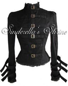 Spin Doctor Foggy Steampunk Corset Jacket- the cutest StriaghtJacket I've ever seen. :)