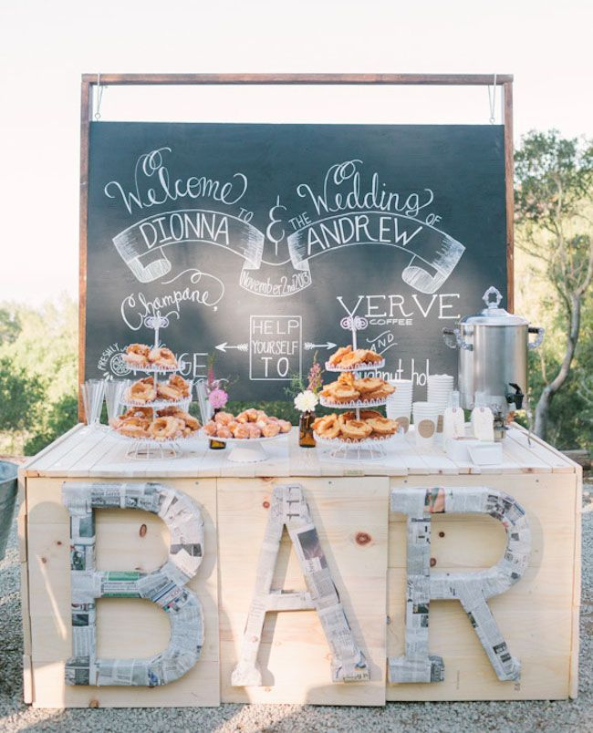 Fabulous Breakfast and Brunch Wedding Ideas for the Early Birds - Kirsten Julia Photography via Green Wedding Shoes
