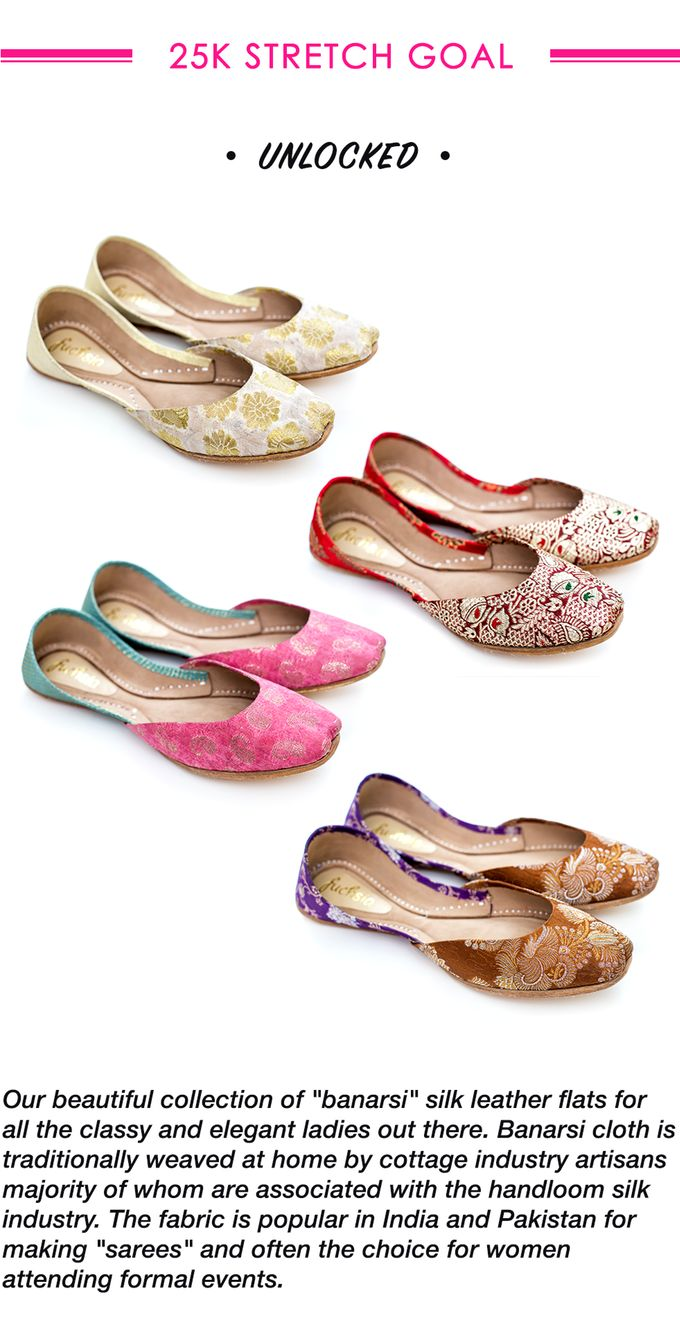 Reinventing the ethnic footwear traditionally known as 'Khussas' for the fashion enthusiast.