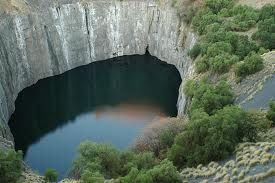 The Big Hole, Open Mine or Kimberley Mine (Afrikaans: Groot Gat) is an open-pit and underground mine in Kimberley, South Africa,