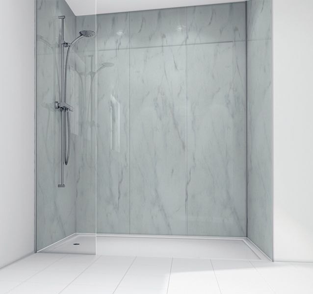 21 best Shower Panels (the new bathroom tile) images on Pinterest ...