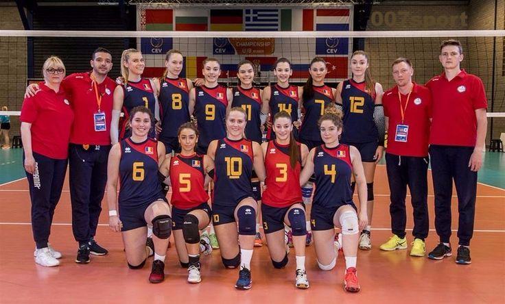 Volei feminin: Start cu dreptul pentru Naționala României U18 la Europeanul de volei