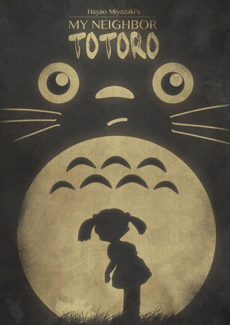 ♥ Winnychenportfolio | My personal journal ♥: ♥ 5 Awesome 'My Neighbor Totoro' Posters