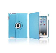 iPad Rotatable Case in Light Blue