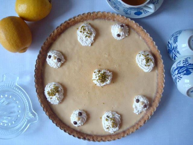 Soft Lemon Tart | Jemný citrónový koláč - www.vune-vanilky.cz