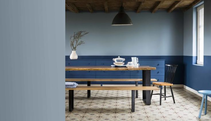 Dulux Colour of the Year 2017 - Mad About The House: Dulux Colour Futures: Denim Drift, Indigo Shade
