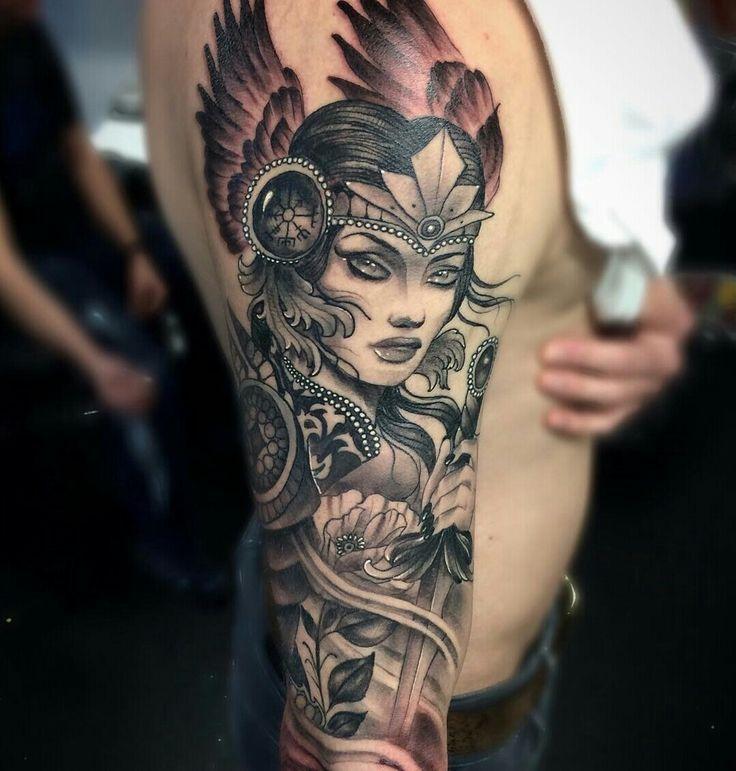 862f68a1b3559 25+ best Valkyrie tattoo ideas on Pinterest | Viking warrior tattoos, Norse  tattoo and