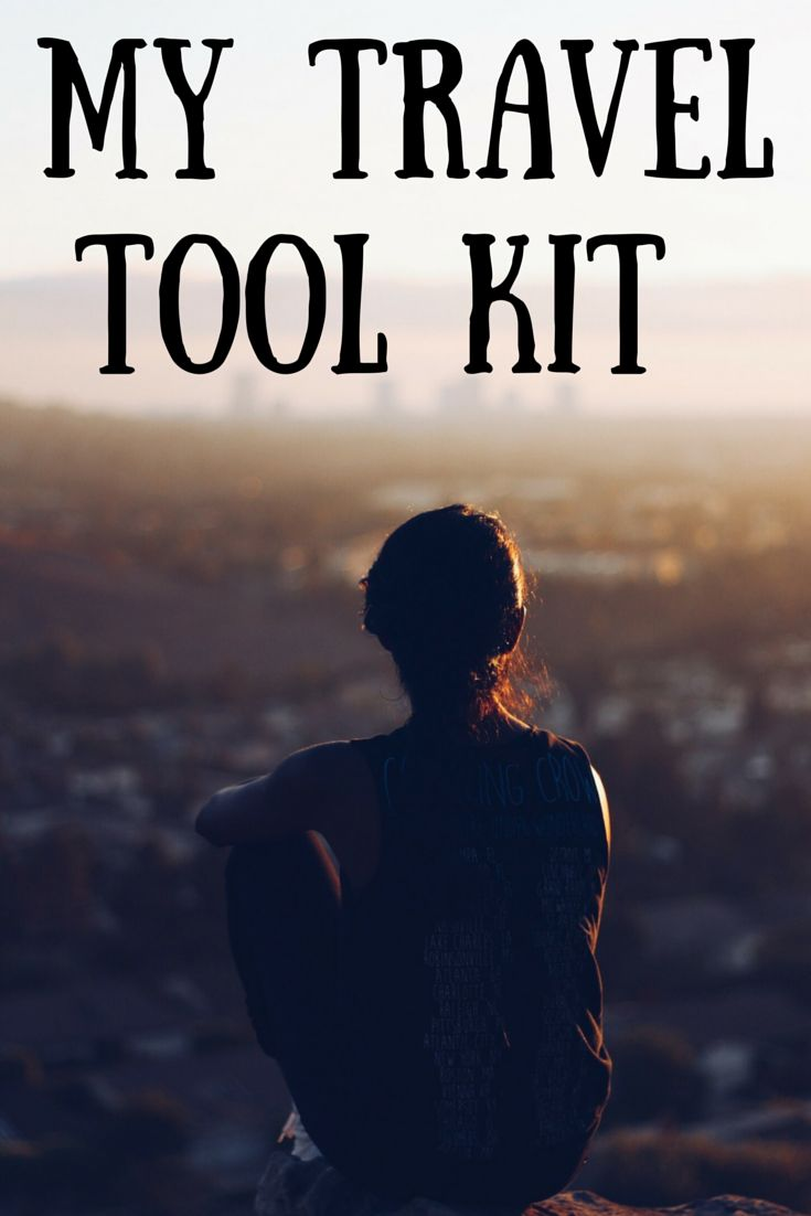 Explore my travel tool kit, where I share the gear, electronics, and websites I use when I travel!