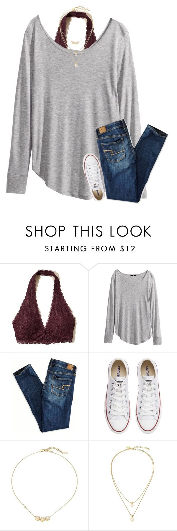 """{I think polyvore hates h&m... whenever I try to search for it, it says no results}"" by southerngirl03 ❤ liked on Polyvore featuring Hollister Co., H&M, American Eagle Outfitters, Converse, Cole Haan and Kate Spade"