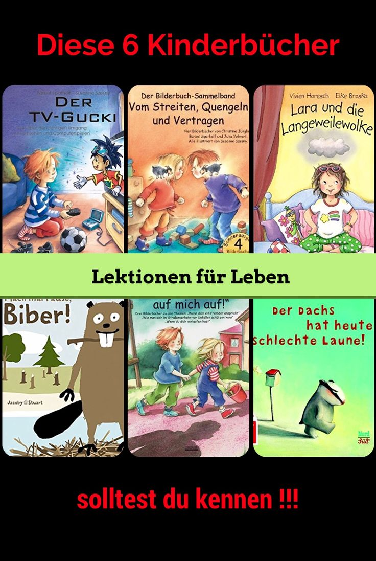 Bilderbücher für Kindergärten, Kita und Grundschule / pädagogisch wertvoll