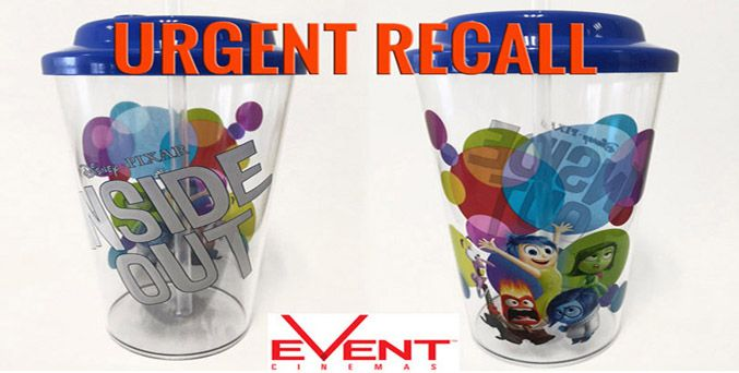 Inside Out Event Cinema Cup Urgent Recall - ProductsWatchdog.com