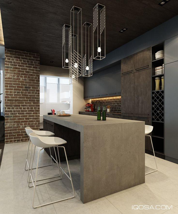 Design A Chic Modern Space Around A Brick Accent Wall