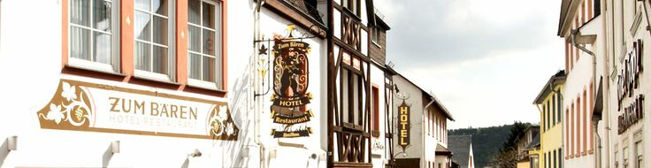 Hotel zum Bären in Rüdesheim am Rhein - das fahrradfreundliche Hotel am Niederwald.